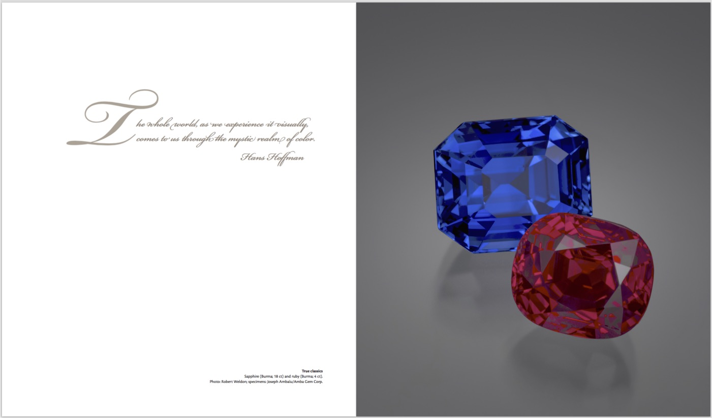 Ruby & Sapphire: A Gemologist's Guide – Gallery