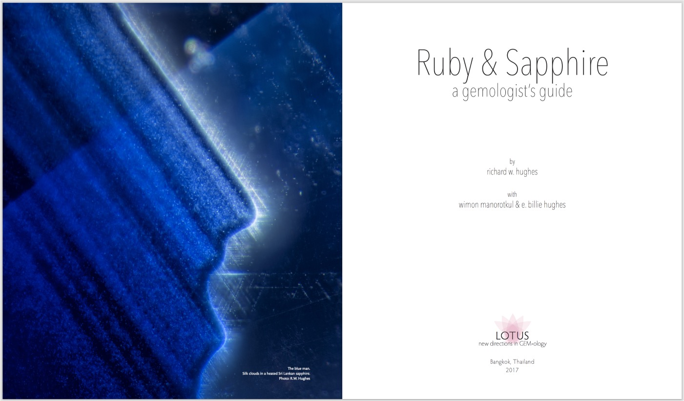 Ruby & Sapphire: A Gemologist's Guide – Title Page