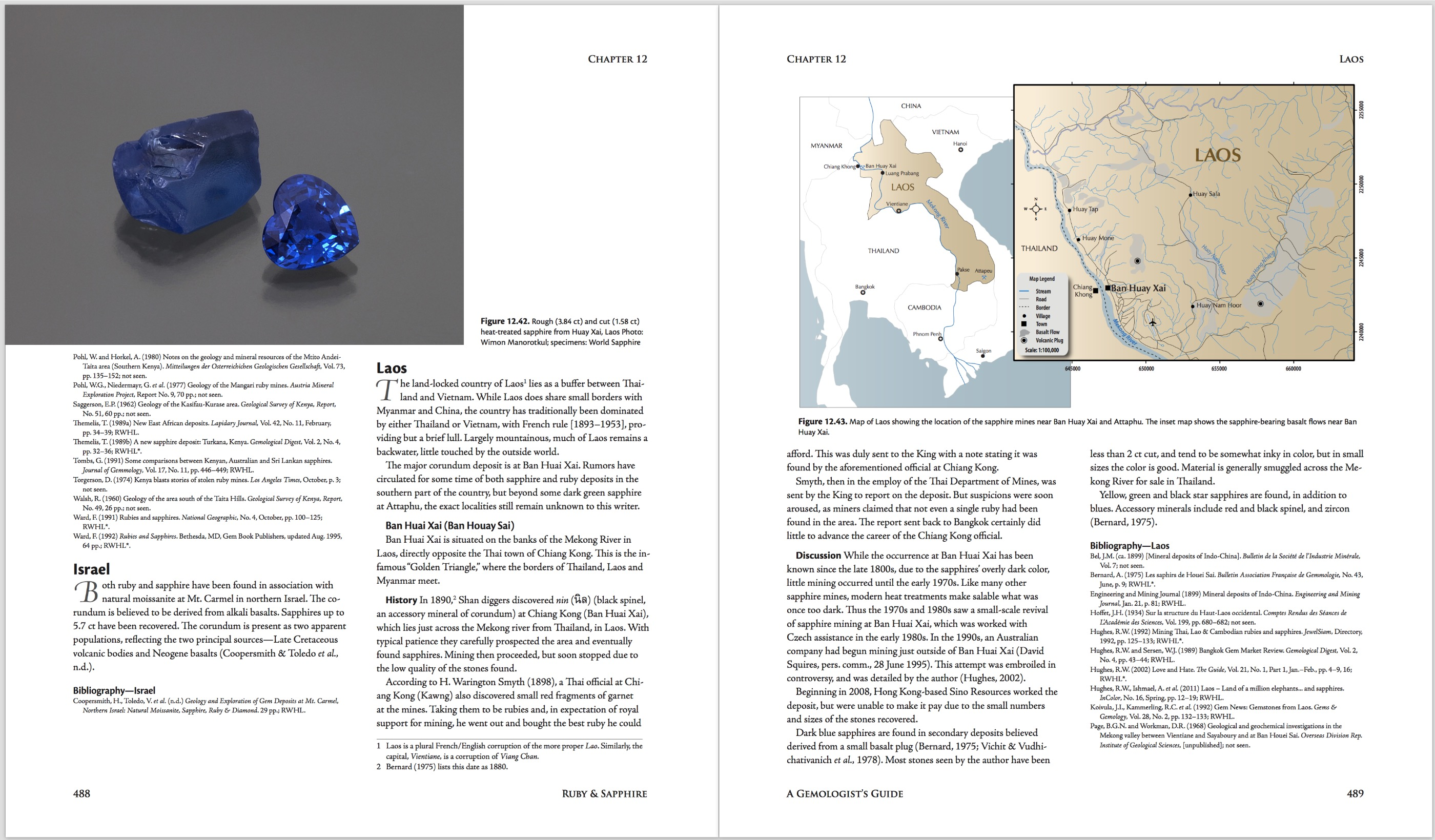 Ruby & Sapphire: A Gemologist's Guide – World Sources: Laos