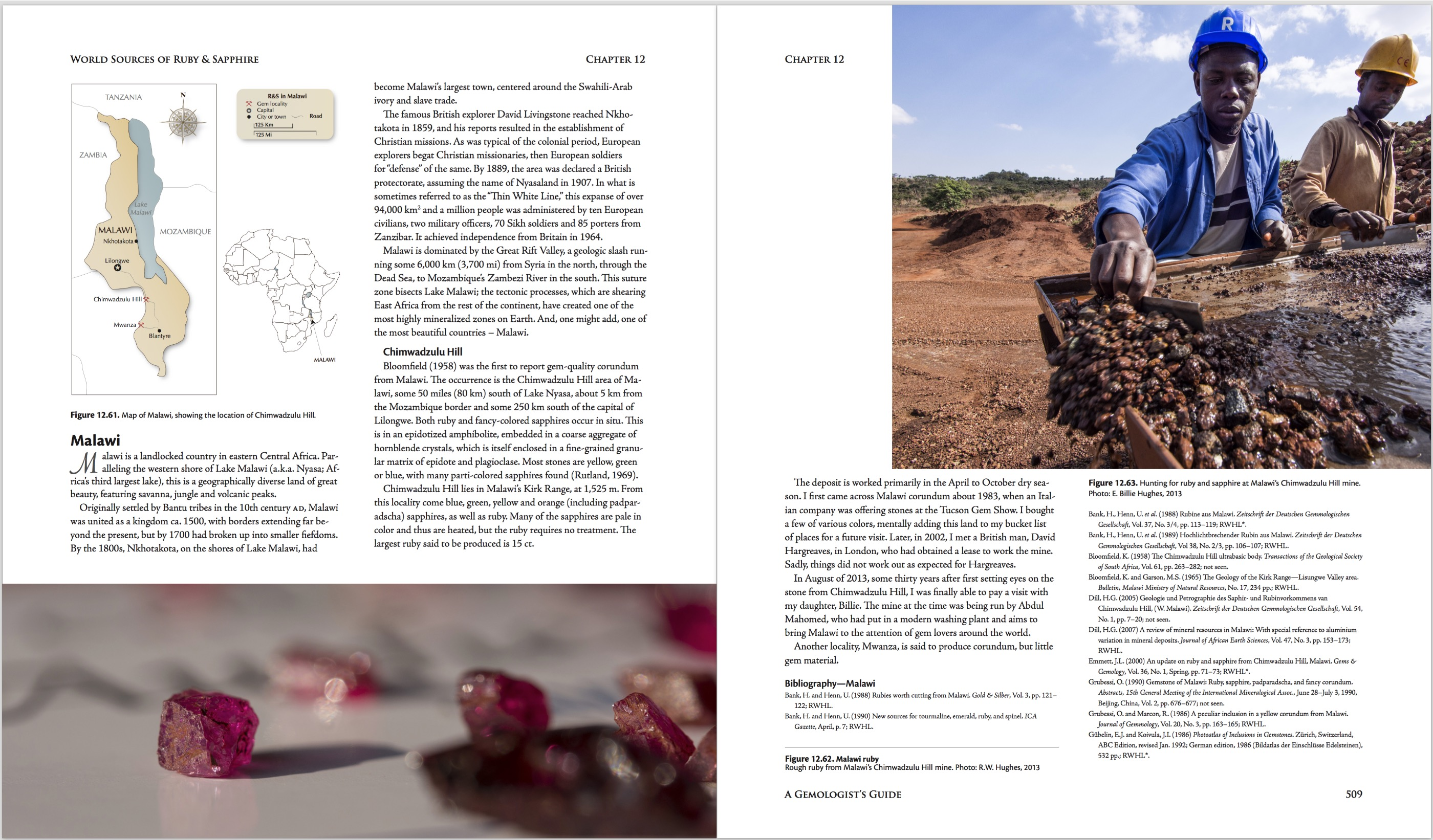 Ruby & Sapphire: A Gemologist's Guide – World Sources: Malawi