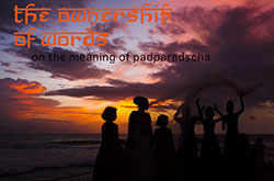 The Ownership of Words – An essay on the meaning of Padparadscha