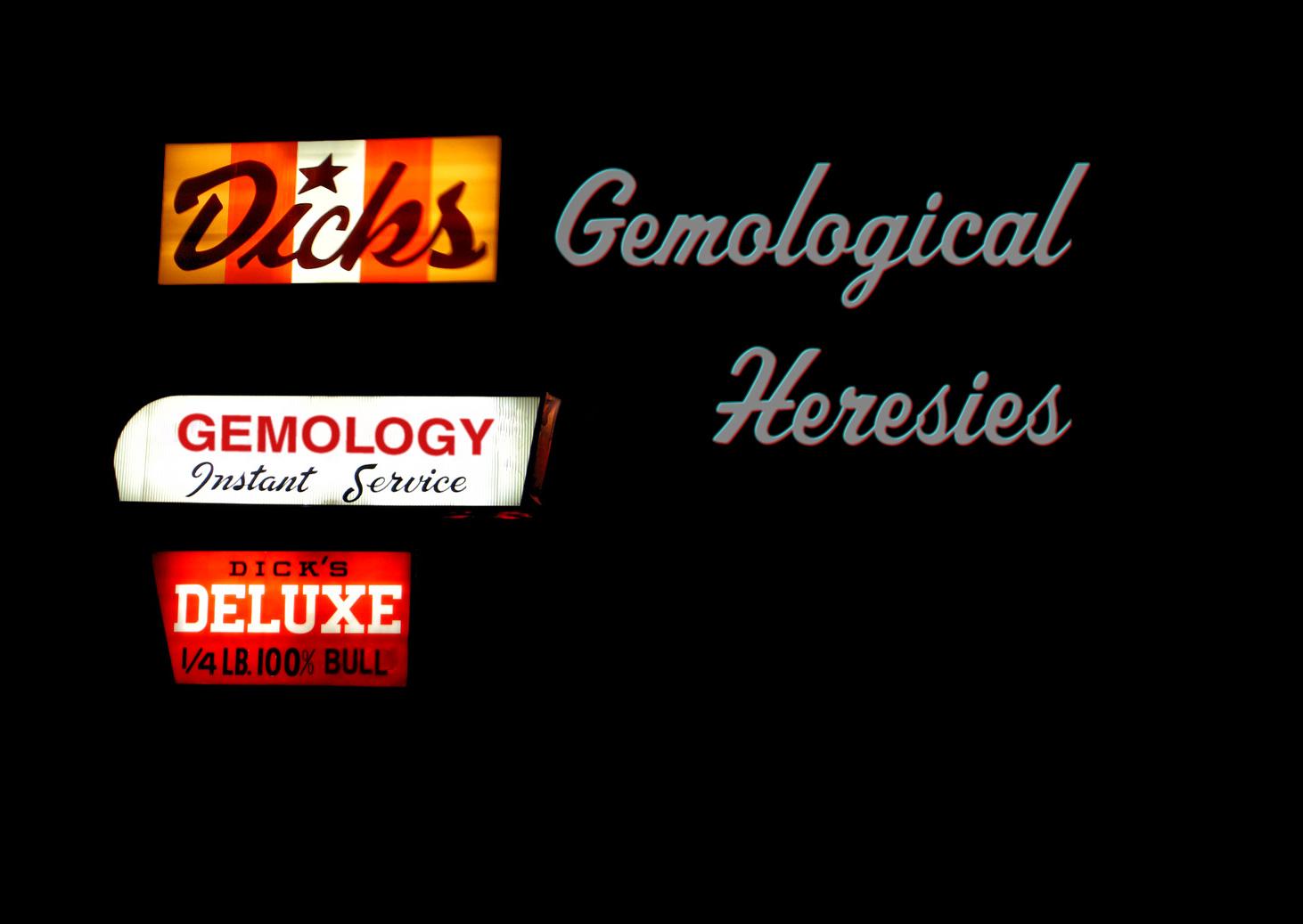 Lecture Gemological Heresies Washington Dc 14