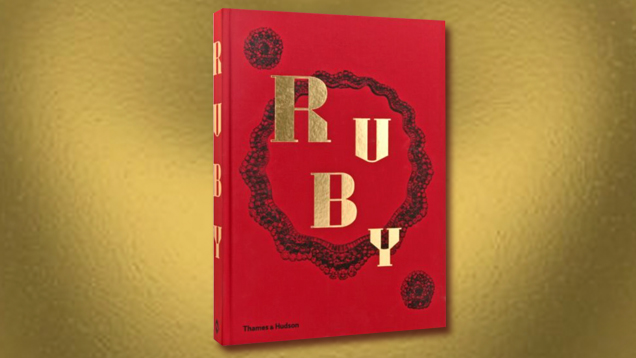 With its deep crimson color and bold gold lettering, Ruby stands out on a bookshelf, much as a piece of fine jewelry catches attention in a room. This eye for design continues inside the beautifully laid-out volume, with plenty of examples of important ruby jewelry and the powerful people who have worn them throughout history.