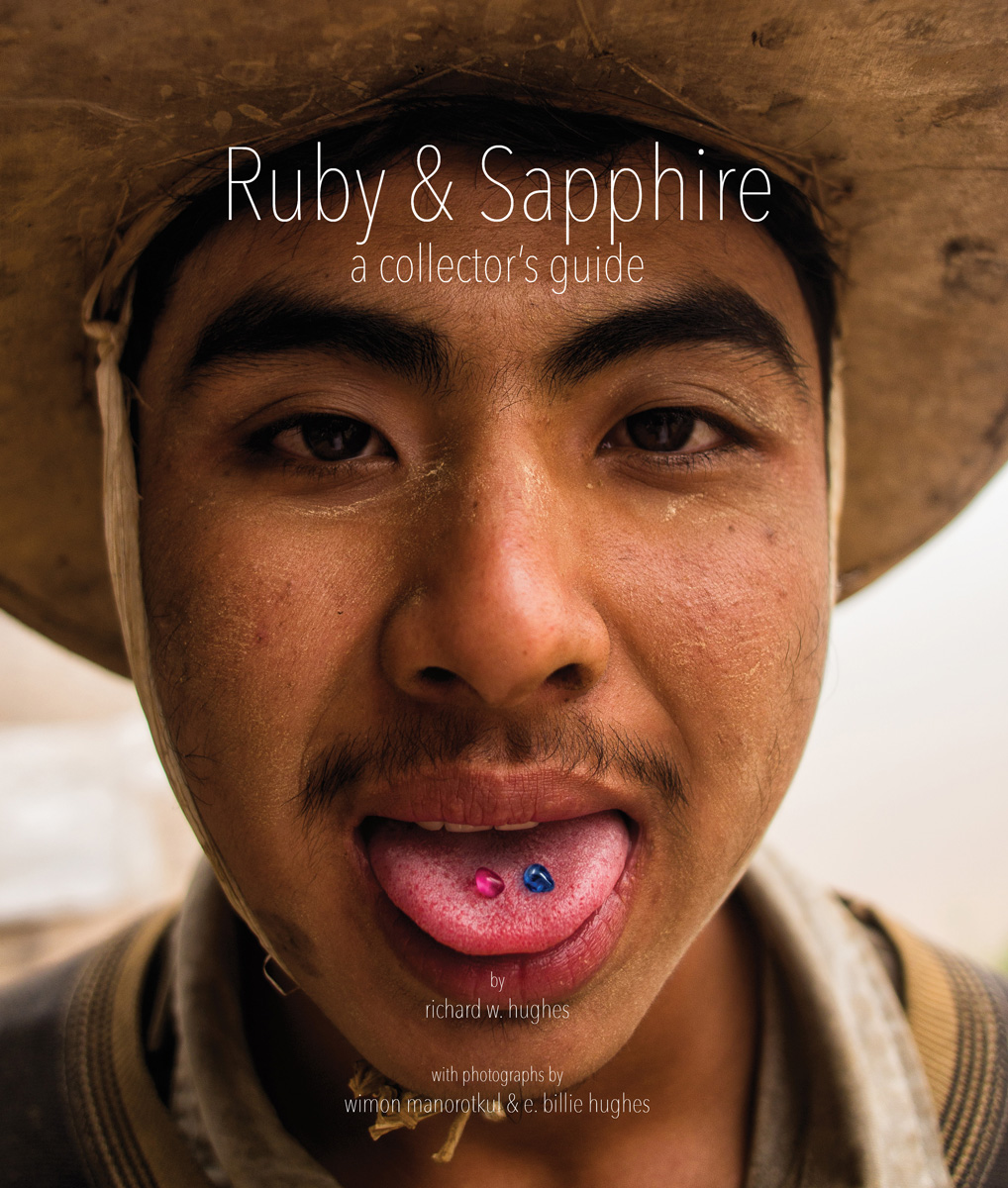 Hughes 2014 Ruby Sapphire Collectors Guide cover