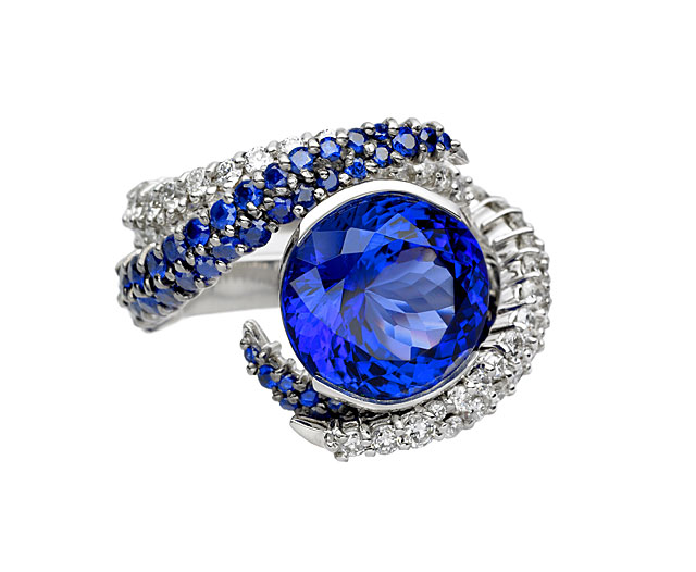 Shaun Leane-designed tanzanite ring