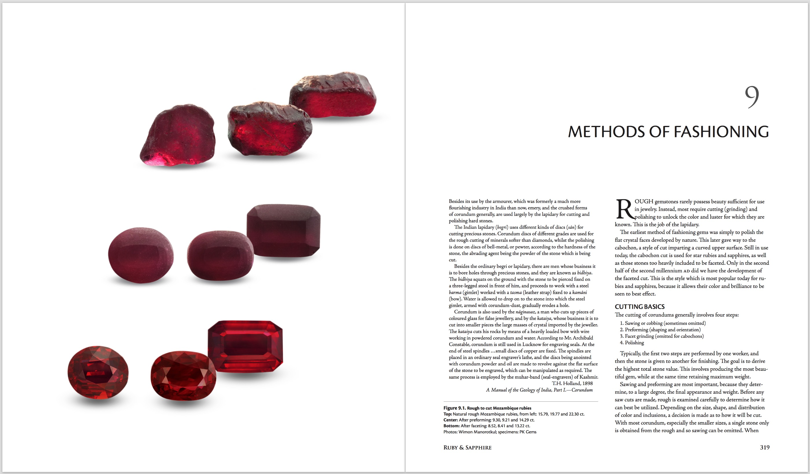Ruby & Sapphire: A Gemologist's Guide – Methods of Fashioning