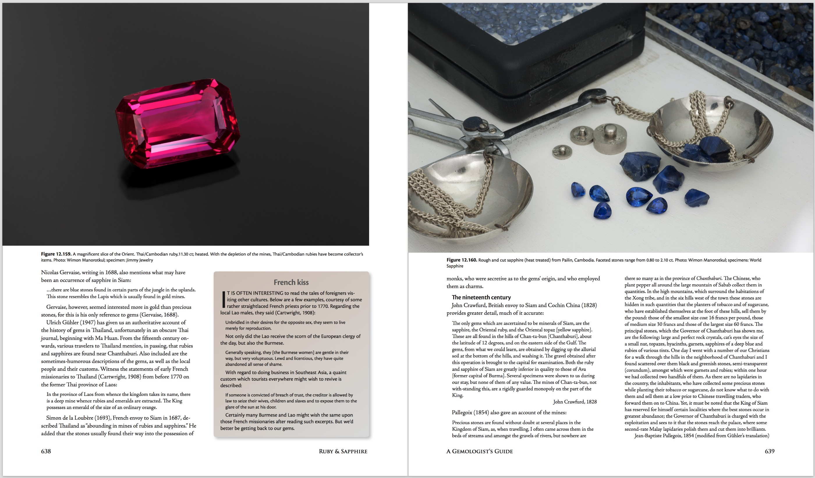 Ruby & Sapphire: A Gemologist's Guide – World Sources: Thailand/Cambodia