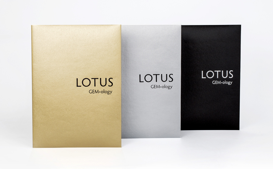 Lotus Gemology is the only lab in the world to color code its reports so that a clear deliniation is made between gems that are natural and untreated (Lotus Gold), gems that are enhanced by industry standard methods (Lotus Silver) and gems that are heavily treated or synthetic (Lotus Black).