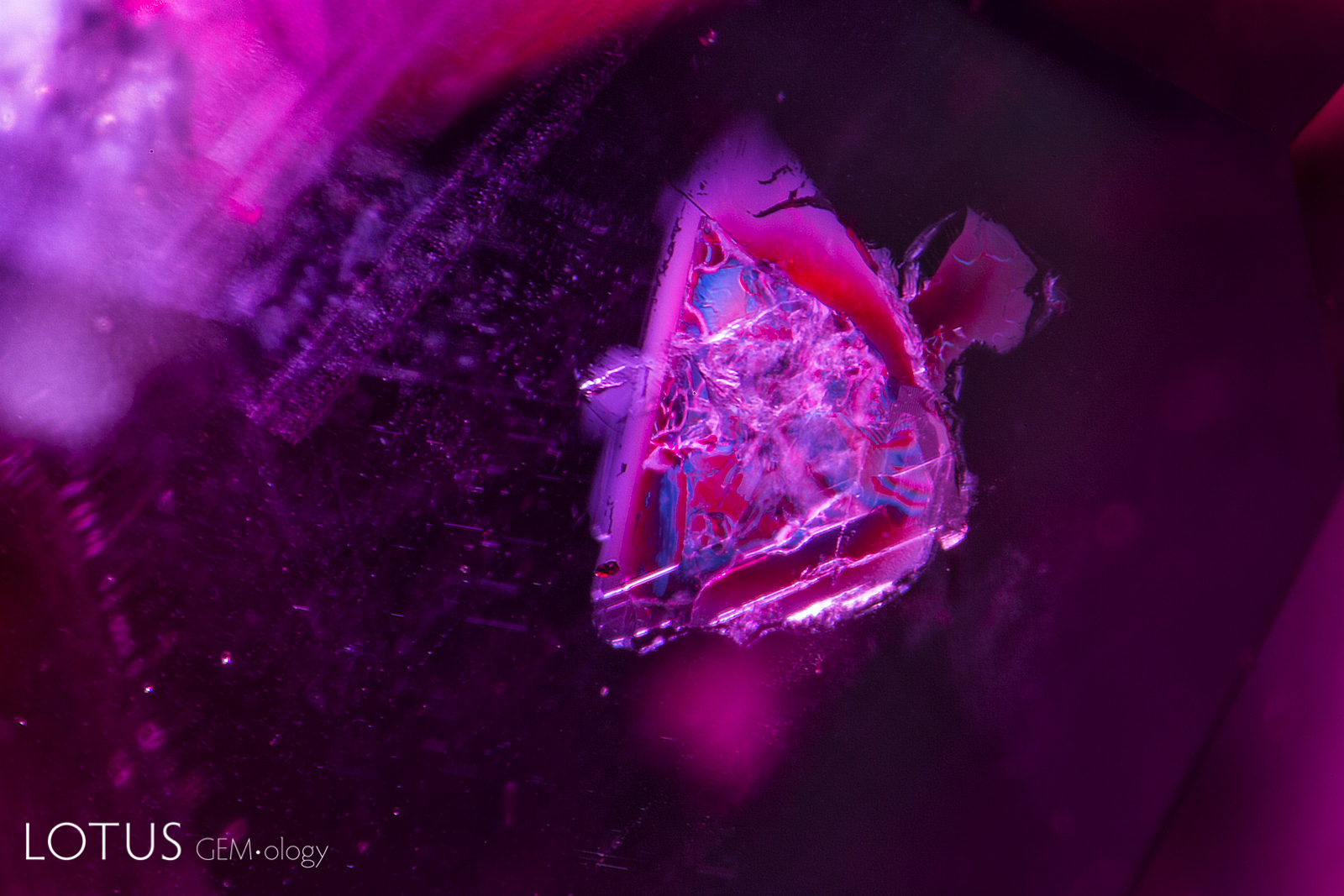 Again, like their Mozambique cousins, Andilamena rubies may feature mica inclusions. Photo: Richard W. Hughes