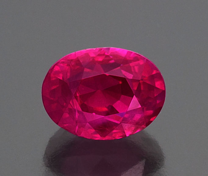 Mogok ruby, 4.02 ct