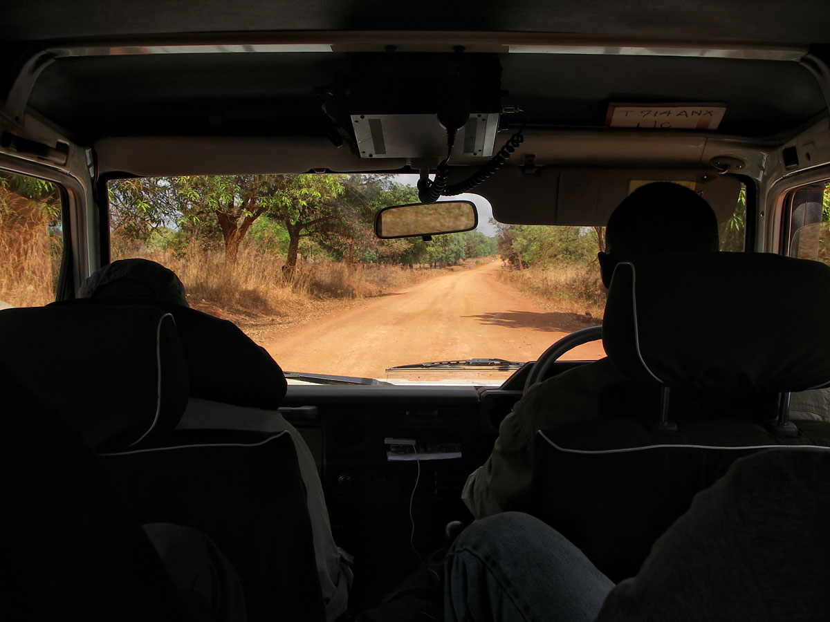 The road from Songea to Tunduru. Photo: Vincent Pardieu