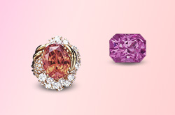 Ruby, Pink Sapphire & Padparadscha • Walking the Line • Lotus Gemology